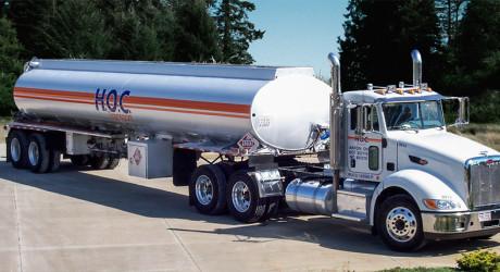 HOC Transport tanker truck